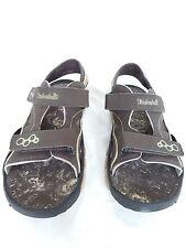 TIMBERLAND - Men's Brown Open-Toe Adjustable Sandals, Size 7 US, 6.5 UK, 40 EU