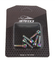 6pcs Bolt M5*18mm Bicycle Stem Screws Bicycle Bolts MTB Steering Handlebar New