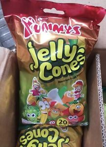 JobLot 10 X Huge Bags 400g New TIK TOK Challenge Jelly Cones Sweets BB 16/1/20
