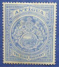 1908 ANTIGUA 2 1/2d SCOTT# 34a S.G.# 46a UNUSED                        CS04384