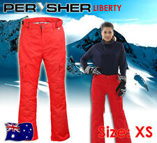 PERYSHER LIBERTY Womens Ski & Snowboard Pants - Ladies Carmine Red, Extra Small
