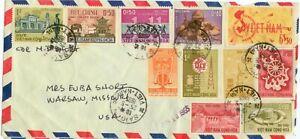 May 1965 Navy Commander M H Short in Saigon South Vietnam cover
