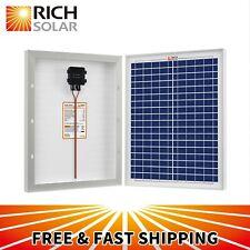 20W 30W 50W 12V Polycrystalline Solar Panel Module Marine Off Grid Boat