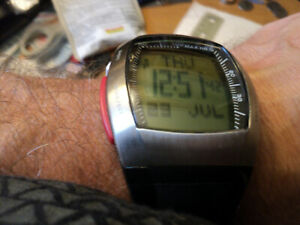 Sportline 4963S Duo 1060 Speed and Heart Rate Monitor, Men's Version Black
