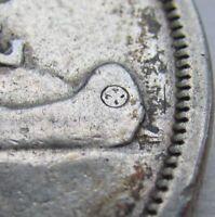 1955 Canada Silver Dollar - KM# 54 - Arnprior? - VF- (Fine+)