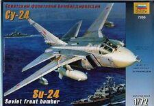 Sukhoi Su-24 Fleuret B (SOVIET AF MKGS) #7265 1/72 Zvezda