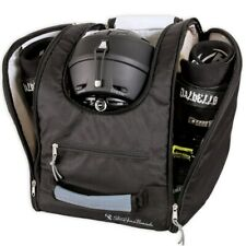 StoreYourBoard Ski and Snowboard Boot Bag, Travel Backpack, Holds Helmets, Boots