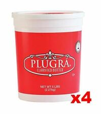 Plugra Clarified Unsalted Butter, CASE (4 x 5 lb Plastic TUBS)
