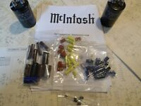 McIntosh  MA6200 FULL restoration recap repair service rebuild kit capacitor