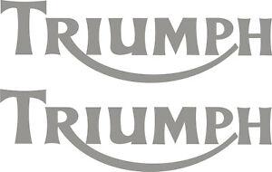 Triumph Tank Vinyl badges
