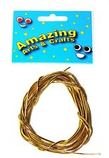 Amazing Arts and Crafts Gold Elastic Cord 2.8 meters approx