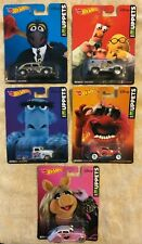 Hot Wheels The Muppets Set of 5 Cars Real Riders