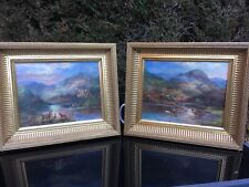 (Prudence Turner c1930-2007) Oil Paintings On Canvas Scottish Highlands & Cattle