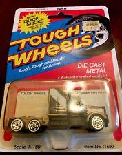 """1981 KIDCO TOUGH WHEELS """"11600-8 GOLDEN FURY HAULER"""" DIECAST TRUCK 1/100 Scale"""