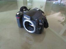 Nikon D D40x 10.2MP Digital SLR Camera - Black (Body Only)