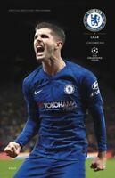 Chelsea v Lille 2019/20 Champions League Programme 19/20 Free Post UK
