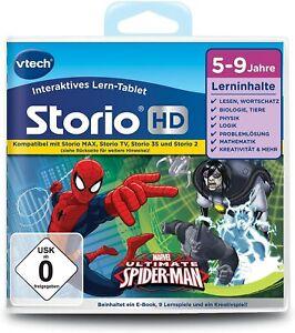 Vtech Storio HD Der ultimative Spiderman Brandneu und VERSIEGELT