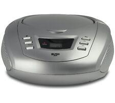 Bush CD Radio Boombox - Silver