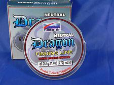 Monofilo Tubertini Dragon Neutral 0,10 50 mt pesca agonismo passata, canna fissa