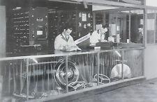 "1937 Chevrolet Parts Counter 12 x 18"" Black & White Picture"
