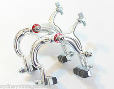 PAIR Brake Calipers Alloy Vintage Road Bikes Ladies Mens Bicycles Brakes NEW SYD