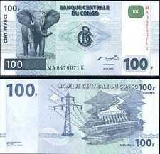 CONGO AFRIQUE Billet 100 FRANCS 2000 P92 NEUF UNC