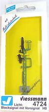 LUCE- Segnale di blocco con preavviso Multiplex TECNOLOGIA Viessmann 4724