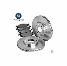 FOR BMW E90 328i 3.0 2009 FRONT BRAKE DISCS SET+ DISC PADS KIT + WIRE INDICATOR