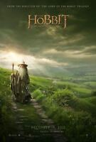 THE HOBBIT AN UNEXPECTED JOURNEY ORIGINAL DOUBLE SIDED MOVIE POSTER 69x102cm