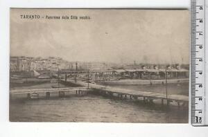 Cartolina Puglia-Taranto Panorama Città Vecchia-TA 4436