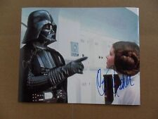 Carrie Fisher, James Earl Jones Signed /Autographed 8 x 10 Photo