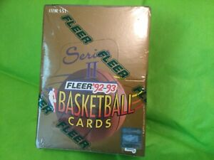 1992-93 Fleer NBA Basketball Card PACKS For Sale From A Sealed Box Series 2