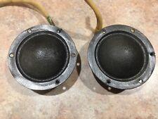 OEM Volvo Dynaudio Dome Midrange Premium Speaker Door Set Pair C70 3533792
