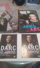 DANIEL DARC EX TAXI GIRL   LOT 2 FLYERS PLUS MAG.