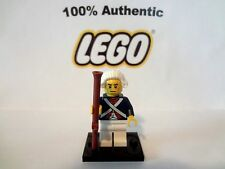 Authentic LEGO Collectible Minifig Revolutionary Soldier minifigure Series 10