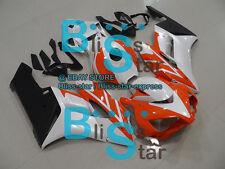 Orange White INJECTION Fairing Kit Fit Honda CBR1000RR 2004-2005 147