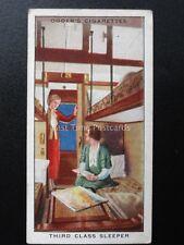 No.24 THIRD CLASS SLEEPER LMS Modern Railways by Ogdens Ltd 1936