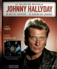 Johnny Hallyday - La Collection Officielle 1989 Cadillac - Livre CD
