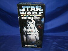"Star Wars Collector Series AT-AT Driver 12"" Fig Lt Blue Background Kenner 1997"