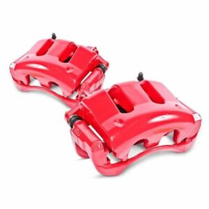 Power Stop 98-02 for Chevrolet Camaro Rear Red Calipers w/Brackets - Pair