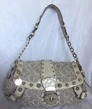 GUESS Faux Leather/Fabric Hobo/Shoulder Bag / Handbag