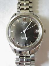Omega Chronometer Electronic Stainless Steel Men's Seamaster F300HZ Grey Dial