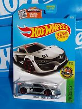 Hot Wheels Diecast New For 2016 HW Exotics #79 Renault Sport R.S. 01 Silver