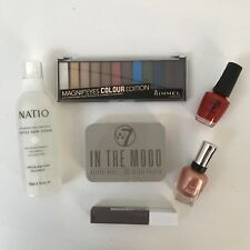 Bulk Lot Make Up Bundle, Maybelline Lipstick, Nail Polish, Natio Toner etc.
