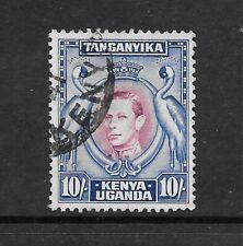 1938 King George VI SG149 10/- Purple &Blue HIGH VALUE Perf 13.25 Fine Used  KUT