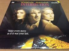 Intersection  Laserdisc Richard Gere Sharon Stone Widescreen  Extended BRAND NEW