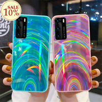 Luxury Rainbow Glitter Phone Case For Samsung Galaxy S20+ Note Ultra Back Cover