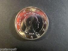 MONACO - pièce MONNAIE de 1 euro 2014, PRINCE ALBERT, VF COIN