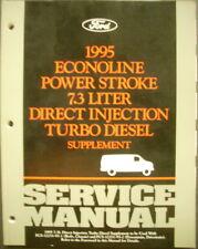1995 Ford Econoline 7.3L DI Turbo Diesel Truck Shop Service Manual Supplement