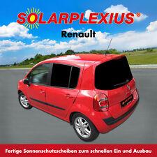 Autosonnenschutz Tönung Vorsatzscheiben Keine Folie Renault MODUS Bj.04-12